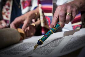 קריאה בספר התורה בכותל
