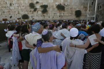 Our quiet prayer at the Kotel