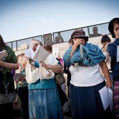 19.12.2017: מנהיגות נשות הכותל הותקפו הבוקר בכותל
